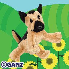 WEBKINZ GERMAN SHEPHERD New Dog Puppy~Sealed Tags