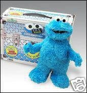 NEW! COOKIE MONSTER TMX Friends of Elmo~Sesame Street Plush~Interactive