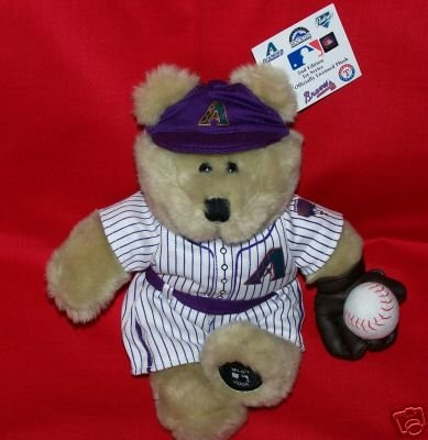 STARBUCKS Arizona DIAMONDBACKS Plush Bear MLB DBacks~Baseball