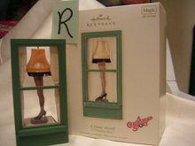 A CHRISTMAS STORY A Major Award! LEG LAMP~Hallmark 2007 Ornament