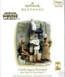 Star Wars: A JEDI LEGACY REVEALED~MAGIC Hallmark 2007 Ornament