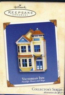 Hallmark 2002 VICTORIAN INN Nostalgic Houses & Shops~#19 Ornament