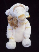 Disney Cream & Gold TIGGER Jumbo Plush~NEW Pooh Friend
