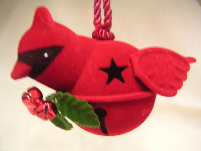 Hallmark CARDINAL BELL Ornament 2007
