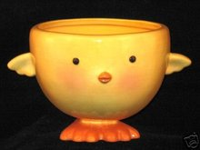 Hallmark Easter Chick Ceramic Candy Bowl/Dish