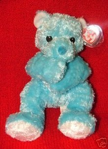 NEW! Ty Blue Cuddlecub~Pillow Pal Pals Baby Bear Cub~Rattle~Cuddle Cub~Baby Ty
