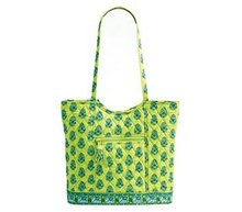 Vera Bradley BUCKET TOTE Bag~Citrus Green~New w/ Tags