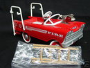 Hallmark 1962 Murray Super Deluxe FIRE TRUCK~Kiddie Car/Pedal Car/Die-Cast