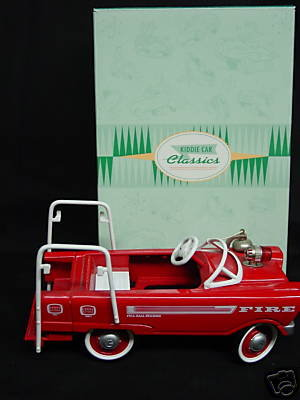 Hallmark 1962 Murray Super Deluxe FIRE TRUCK~Kiddie Car/Pedal Car/Die-Cast