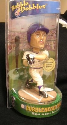 LUIS GONZALEZ BobbleHead~Bobble~Ceramic~Numbered~Limited Ed~Gonzo