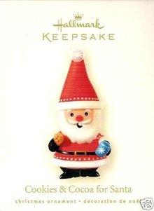 2008 Hallmark Cookies & Cocoa for Santa~Christmas Ornament