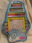 Care Bears Color by Number Activity Set~12 pictures+ Backpack