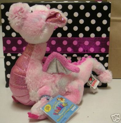 Large WEBKINZ~WHIMSY DRAGON~Sealed Tag/Code