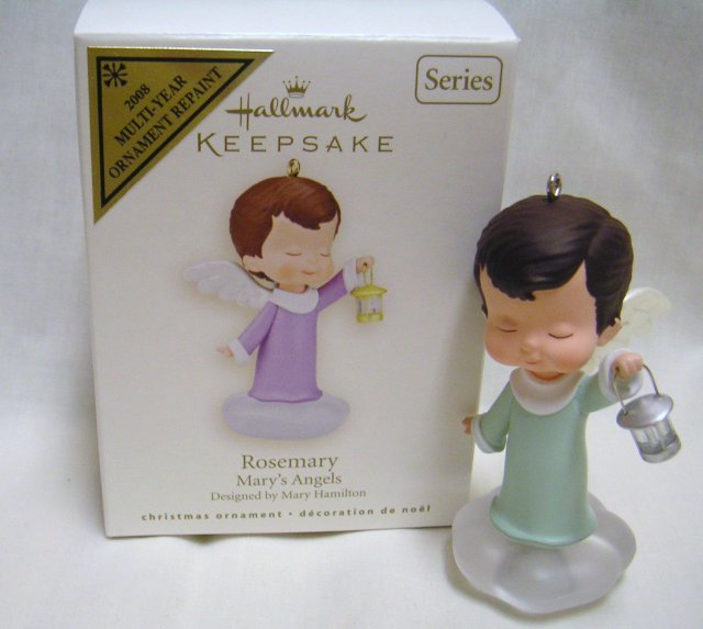 Hallmark 2008 ROSEMARY~Mary's Angels~Multi-Year~Repaint~Colorway