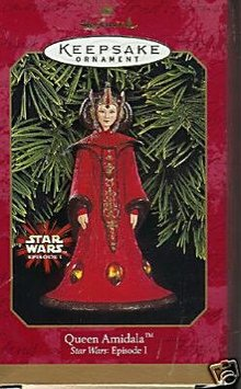 1999 Hallmark STAR WARS QUEEN AMIDALA Ornament