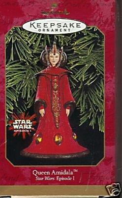 1999 Hallmark STAR WARS QUEEN AMIDALA Ornament