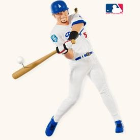 Nomar Garciaparra—Los Angeles DODGERS~Hallmark 2008 BASEBALL Ornament~13th in Series