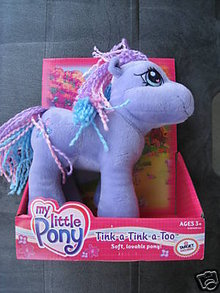TINK-A-TINK-A-TOO My Little Pony PLUSH~Soft & Cuddly! 9