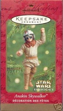STAR WARS~Anakin Starwalker~Hallmark 2001 Ornament