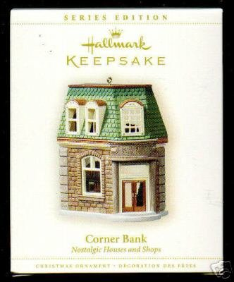 2006 Hallmark Corner Bank~#23 Nostalgic Houses Ornament