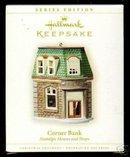 2006 Hallmark Corner Bank~#23 Nostalgic Houses Ornament
