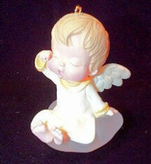1992 Hallmark LILY~5th in MARY'S ANGELS Ornament Series
