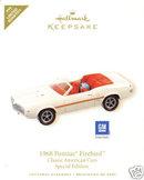 2008 Hallmark 1968 PONTIAC FIREBIRD Classic Car Repaint / Limited Quantity Ornament ~Die cast metal