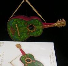 Hallmark 2008~FELIZ NAVIDAD w/ Jose Feliciano Guitar Music~Christmas Ornament