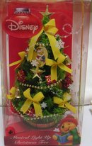 Winnie the Pooh CHRISTMAS TREE~Musical Light Up~Disney~10