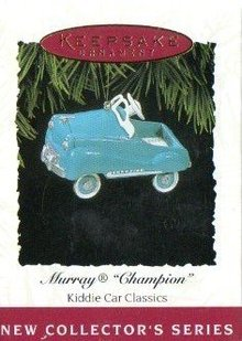 1994 Hallmark~MURRAY CHAMPION~1st Kiddie Car Classics Ornament Series~Die-Cast