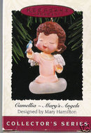 Hallmark 1995 Camellia - Mary's Angels Ornament~8th in Series