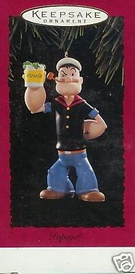 Hallmark, 1994 Popeye Ornament