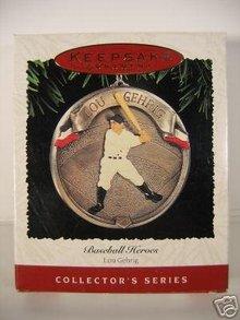 Hallmark, 1995 Baseball Heroes, Lou Gehrig Ornament