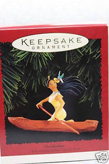Hallmark, 1995 Pocahontas Ornament~Disney
