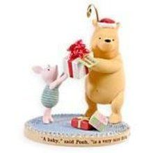 2008 Hallmark Winnie the Pooh's BABY'S FIRST CHRISTMAS Ornament