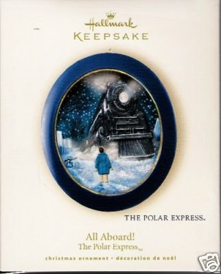 2008 Hallmark ALL ABOARD! Polar Express Lights Ornament