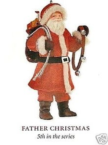 2008 Hallmark FATHER CHRISTMAS Series Ornament~5th