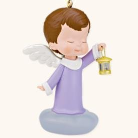 2008 Hallmark ROSEMARY~21st in the Mary's Angels Christmas Ornament Series