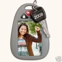 2008 Hallmark LICENSED DRIVER Photo Holder~Christmas Ornament
