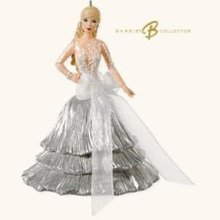2008 Hallmark CELEBRATION BARBIE~9th in the Christmas Ornament Series