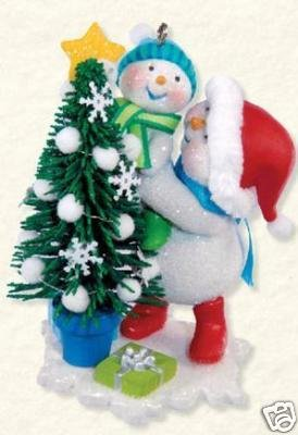 2008 HALLMARK TRIMMING THE TREE~Ist in Series~Christmas Ornament
