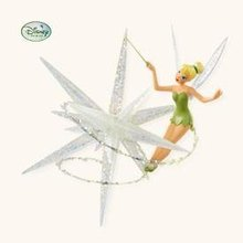2008 HALLMARK~A TOUCH OF TINK~Tinker Bell of Disney's Peter Pan~Christmas Ornament