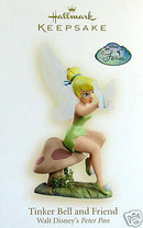 2008 HALLMARK~TINKER BELL AND FRIEND~Disney~Peter Pan