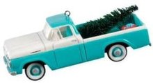 2008 Hallmark~1960 FORD F-100 Pickup Truck~Christmas Ornament