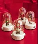 2008 Hallmark 4 HAPPY TAPPERS~Reindeer~Elf~Santa~Snowman~Songs & Dance~Complete Set of 4