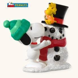 2008 Hallmark WINTER FUN WITH SNOOPY Christmas Ornament~Peanuts