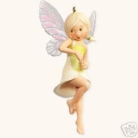 2008 Hallmark LILY FAIRY Christmas Ornament~4th in Series