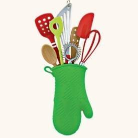 2008 Hallmark ALL THROUGH THE KITCHEN Utensils~Christmas Ornament