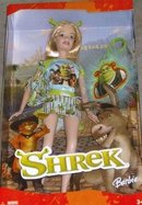 SHREK Movie BARBIE Doll with Keychain, Backpack & Stand~Boxed