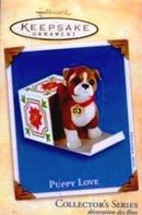 2003 Hallmark PUPPY LOVE Boxer Dog~#13 Christmas Ornament